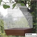 2014 novo design branco gaiolas de pássaro decorativas