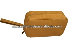 hanging make up bags with prompt delivery / customized nice make up brush bags / high-end 2015 cosmetic bags