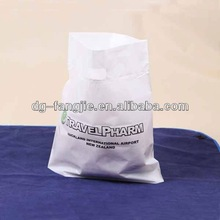 wholesale plastic bag with reinforced handle