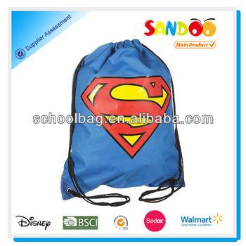 2014 China factory cheap wholesale drawstring cotton bags