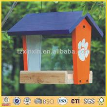 Colored bird feeder decoration 9275