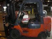 Used Toyota 7FGCU35 forklift rental for sale rent