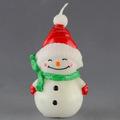 alta qualidade suspensão do boneco de neve de natal velas