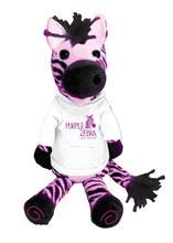"15"" Fashion design cuddly and attractive stuffed plush zebra boy toys for children"