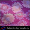 100% de poliéster de impresión de color rosa micro tela piel de durazno