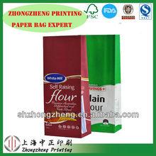 Shanghai best seller! Factory Wheat Flour Paper Bag packaging/kraft paper bag