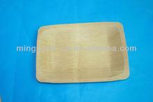 usa e getta piazza piatti a base di bambù ingrosso