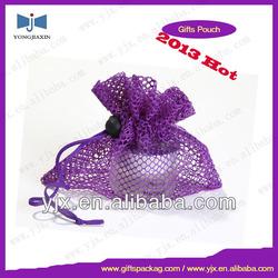 vegetable fruit mesh bag drawstring