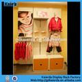 المتاجر ملابس الاطفال/ الرفوف الخشبية للأطفال/ طفل جدار جبل الرف