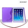Purple Tpu shockproof case for ipad air
