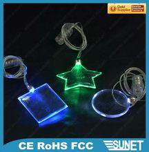 beauty led flashing light necklace manufacturer & factory