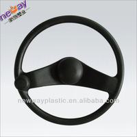 Injected plastic car wheel cover