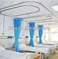 el hospital de la pantalla de la cortina con montado en el techo de aluminio de la pista de la cortina