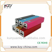 kzy usb travel power bank, power pack power bank, power bank travel set