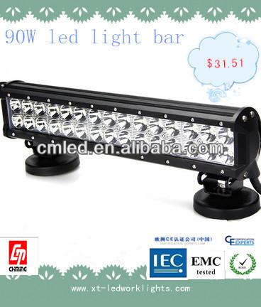 Sản phẩm mới 90w10v-30v ánh sáng đèn led làm việc tự động, Chỉnh ánh sáng