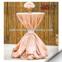 wholesale high bar cocktail table cloth for weddings