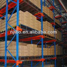 Adjustable Warehouse Nanjing Drive in pallet rack/metal shelf/storage racking system