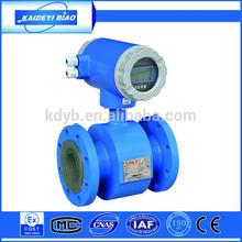 Electromagnetic hot water supply flow rate flow meter measuring instrument