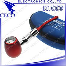 Original electronic cigarette k1000 e cig, brass design k1000 e cig mod telescope made in china