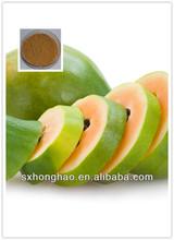 4:1 pure natural Reddish-brown Green Papaya Extract