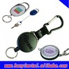 Promotional metal key retractable key rings
