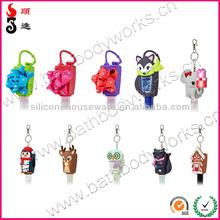 29ML BBW antibacterial pocket waterless antibacterial hand cleaner /sanitizer/wash gel with cute colorful holder