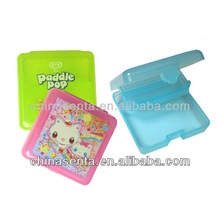 small plastic double-layer gift box cases