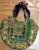 Exclusive boho tribal Banjara vintage designer zari work bag sling tote Indian Banjara Bag