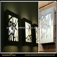 laser cut metal lighting design
