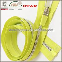 nylon long chain zip