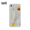 Best selling phone case silicon for iphone5s with credit card design