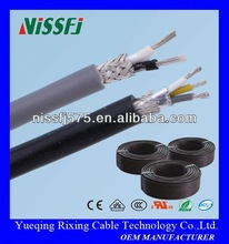 3 core 1.5mm flexible wire,PVC insulated and sheathed screen & shield flexible RVVP cable