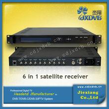 China FTA satellite decoder/QPSK demodulator