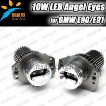 For BMW E90 Sedan E91 Wagon Angel Eyes LED Halo Ring Marker Light Bulbs for BMW E90 E91 Pre-Facelift Angel Eye Led halo ring kit