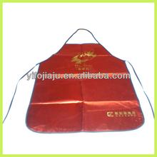 salón de delantal de la cintura tela delantal de la cintura chaleco para la cocina y la promoción