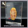 Souvenir oracle bone embedded cube display paperweight