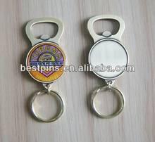 wholesale metal can opener print own logo keyring manufacture for sale(Bestpins-bottle opener-45)