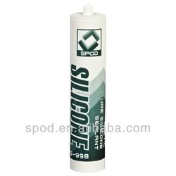 S998 Rapid Acidic Curing RTV Silicone Sealant underwater sealant