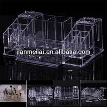 Clear cosmetic organizer/display case/ holder/showcase