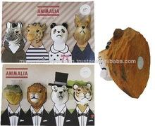 [Gifts Children]Animal Face Shape Magnet 4PCS Set (Family / Tuxedo)