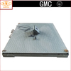 LED Chequer Steel Plate Iron/U Steel Beam Electronic Floor Weighing Balance with Bottom Frame for 1t 2t 3t 5t 10t SCS-A-A