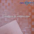marrone colore bambù tessitura modello imprime cuoio del pvc per il sacchetto e mobili