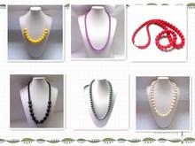 Rosary Fashion Beaded Necklace Silicone Handmade Jewelry