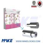 Security showcase push lock cylinder