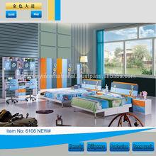 colorful boy children/kids bedroom furniture 6106#