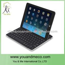 Distinctive Black 360 degree swivel bluetooth keyboard case for galaxy tab 3 8.0
