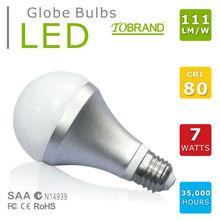 SAA approved CRI>80 9W B22 base 1000 lumen led bulb