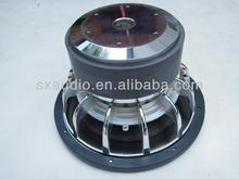 SXAUDIO SP-103 10 inch 3-magnet SPL car subwoofer