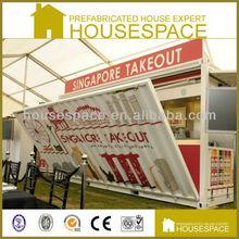 Light Steel Economical Container Restaurant Design