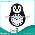 Décoration de la maison animaux mdf mur formes horloge / mur de montre